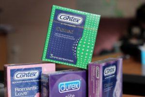 Хранение презервативов