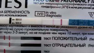 Отрицательные тесты на беременность и антибиотик