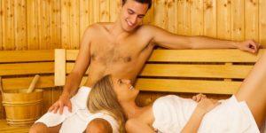 Незащищенный секс в бане