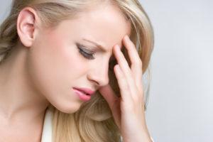 Головокружение и зубная боль