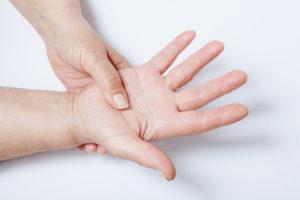 Онемение рук во время ПА