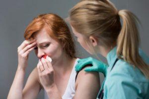 Носовые кровотечения в 13 лет
