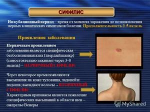 Передается сифилис после лечения
