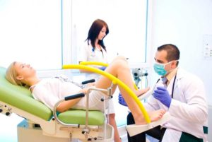 Осмотр у врача гинеколога