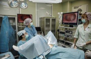 Гистероскопия не рожавшим при бесплодии