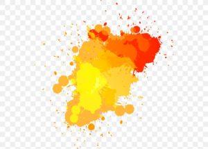 Оранжевые пятна