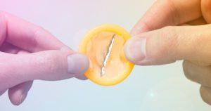 Остался кусок презерватива внутри
