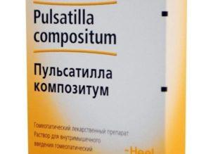 О препорате Пульсатилла композитум