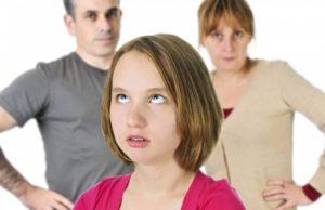 Недопонимания с родителями