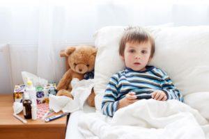Очень часто болеет ребенок
