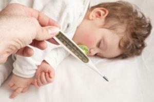 Не проходит температура у ребенка
