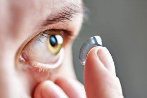 Непереносимость контактных линз