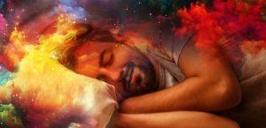 Не контролирует себя во сне
