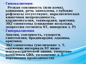 Гипокалиемия