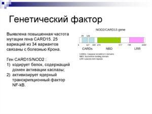 Генетический анализ на болезнь Крона