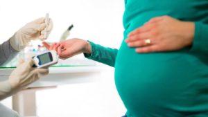 Нормально развивающаяся беременность при плохой спермограмме и сахарном диабете
