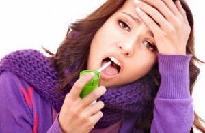 Очень болит горло, но врач говорит, что не ангина