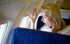 Перелёт на самолете и ВСД
