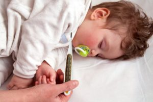 Озноб у ребенка