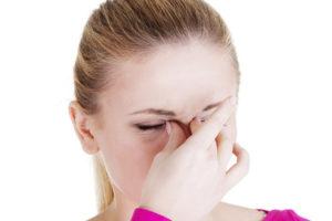 Головная боль из-за спрея в нос