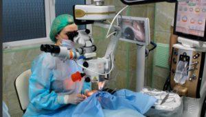 Операция по замене хрусталиков при диабете