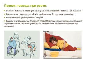 Не прекращается рвота у ребенка. Как её остановить?