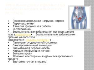 Хр. эндометрит и различные тепловые воздействия на область малогт таза