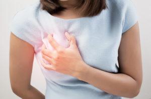 Гормональный сбой болит грудь