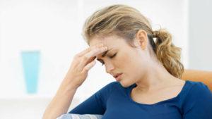 Головная боль, слабость, тошнота, повышенное давление, вздутие живота