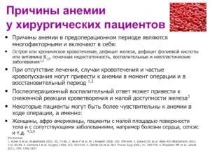 Непонятная причина анемии