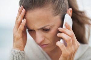 Головная боль при разговоре