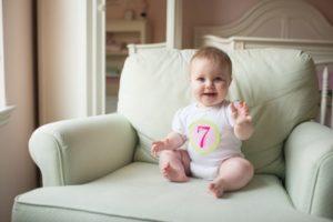 Несамостоятельный стул в 7 месяцев