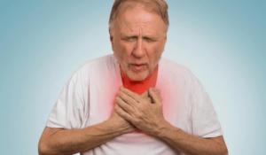 Отдышка, дискомфорт в груди