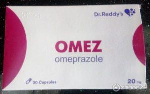 Одновременный прием препаратов, омез, танакан