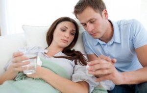 ОРВИ 16 неделя беременности, температура 39.2
