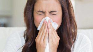 Хроническая заложенность носа и насморк с чиханием