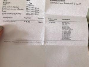 ХГЧ 139,1 Беременность или киста?