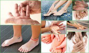 Онемение лица и ноги