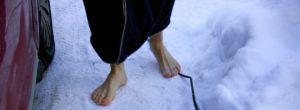 Ощущение холода на в ноге