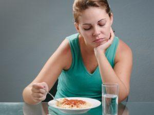 Нет аппетита и диарея