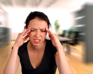 Головокружение, ухудшилась память, психоэмоциональное напряжение
