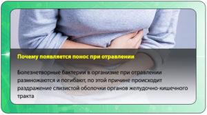 Не прекращается понос после отравления