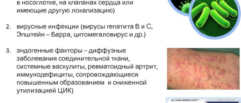 Хроническая бактериальная инфекция