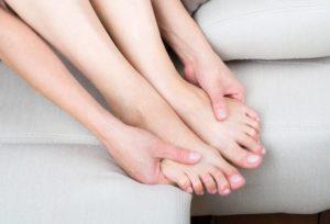 Парестезия голени и стопы