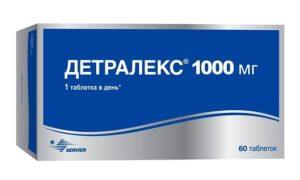 Головокружение от приема 1000 мг Детралекса и общая слабость