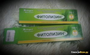 Паста фитолизин при беременности