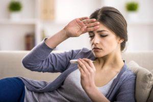 Низкая температура боль в груди слабость и раздражительность